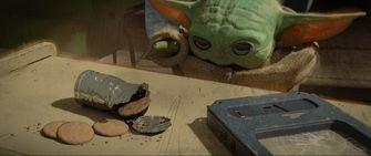 Baby Yoda Makarons concept art