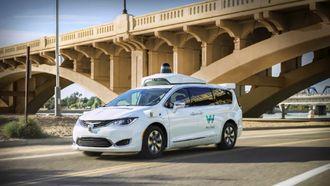 Waymo zelfrijdende taxi