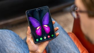 De vouwbare Samsung Galaxy Fold