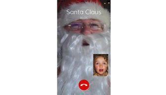 video call santa app kerst 2020