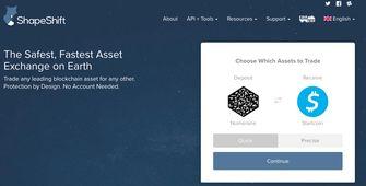 Bitcoin ruilen Ethereum geld Shapeshift