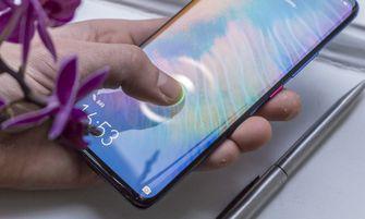 Huawei Mate 20 Pro review vingerafdrukscanner