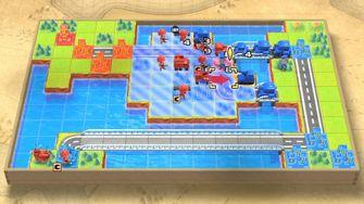 Advance Wars 1+2 Re-Boot Camp op de Nintendo Switch