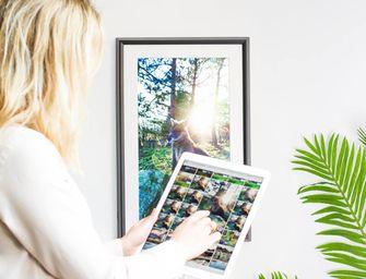 Meural digitaal schilderij