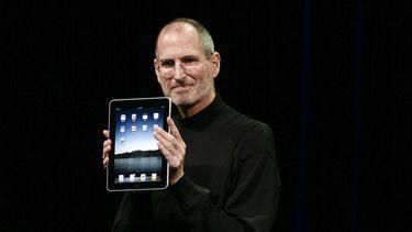Apple iPad 10 jaar Steve Jobs